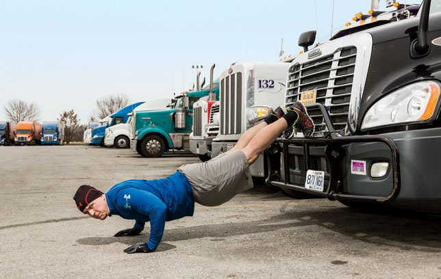 Truckers Spend So Much Time On The Road That It Can Be Difficult To Get Exercise In However Experienced Know Is Possible By Knowing